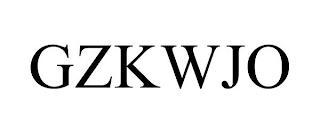 GZKWJO trademark