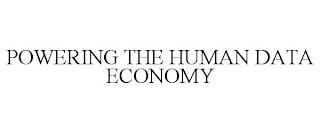 POWERING THE HUMAN DATA ECONOMY trademark