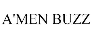 A'MEN BUZZ trademark