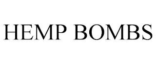 HEMP BOMBS trademark
