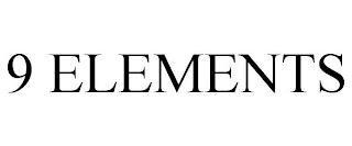 9 ELEMENTS trademark
