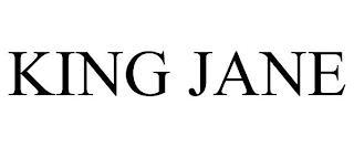 KING JANE trademark