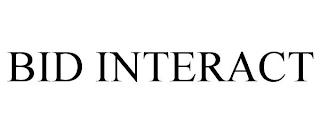 BID INTERACT trademark