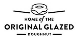 HOME OF THE ORIGINAL GLAZED DOUGHNUT trademark