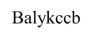 BALYKCCB trademark