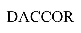 DACCOR trademark
