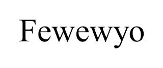 FEWEWYO trademark