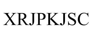 XRJPKJSC trademark