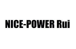 NICE-POWER RUI trademark