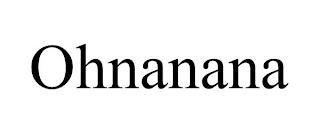 OHNANANA trademark