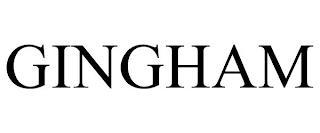 GINGHAM trademark
