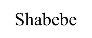 SHABEBE trademark