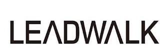 LEADWALK trademark