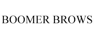 BOOMER BROWS trademark