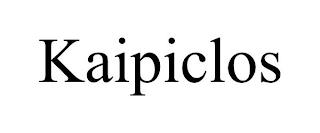 KAIPICLOS trademark