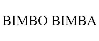 BIMBO BIMBA trademark