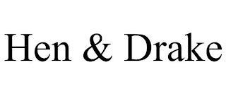 HEN & DRAKE trademark