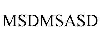 MSDMSASD trademark