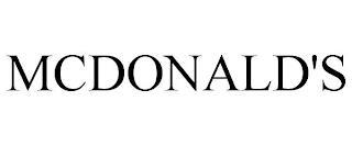 MCDONALD'S trademark