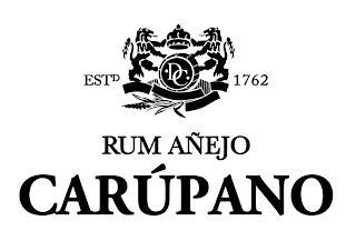 RUM AÑEJO CARÚPANO ESTD DC 1762 trademark