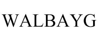 WALBAYG trademark