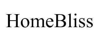 HOMEBLISS trademark