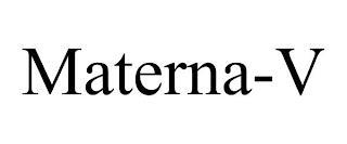 MATERNA-V trademark