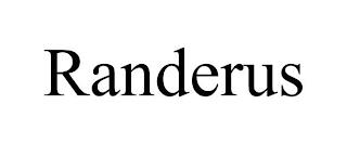 RANDERUS trademark