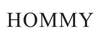 HOMMY trademark