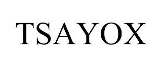 TSAYOX trademark