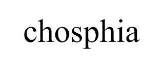 CHOSPHIA trademark