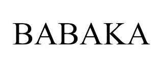 BABAKA trademark