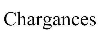 CHARGANCES trademark