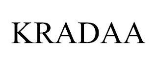 KRADAA trademark