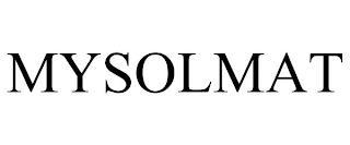 MYSOLMAT trademark