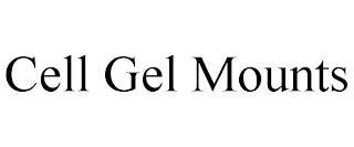 CELL GEL MOUNTS trademark