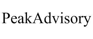 PEAKADVISORY trademark
