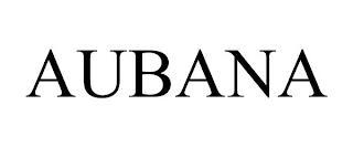 AUBANA trademark