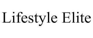 LIFESTYLE ELITE trademark