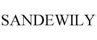 SANDEWILY trademark