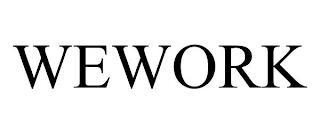 WEWORK trademark