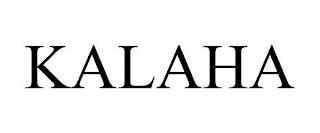 KALAHA trademark