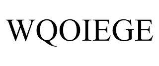 WQOIEGE trademark