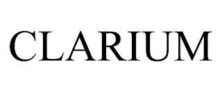 CLARIUM trademark