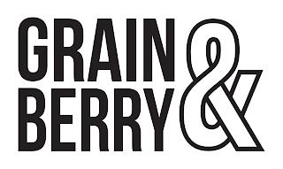 GRAIN&BERRY trademark