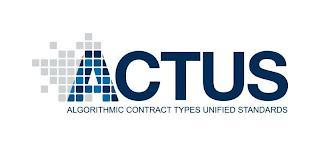 ACTUS ALGORITHMIC CONTRACT TYPES UNIFIED STANDARDS trademark