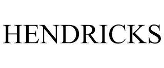 HENDRICKS trademark
