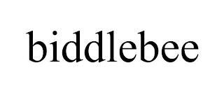 BIDDLEBEE trademark