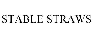 STABLE STRAWS trademark