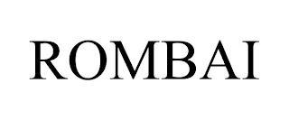 ROMBAI trademark